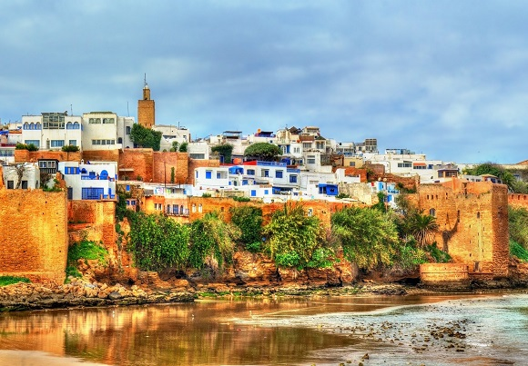 Kasbah of the Udayas in Rabat, Morocco